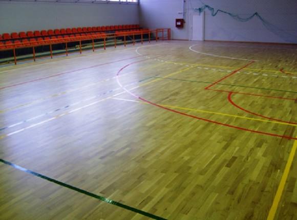 Sala de Sport cu pardoseala din parchet, Universitatea Tehnica din Bucuresti