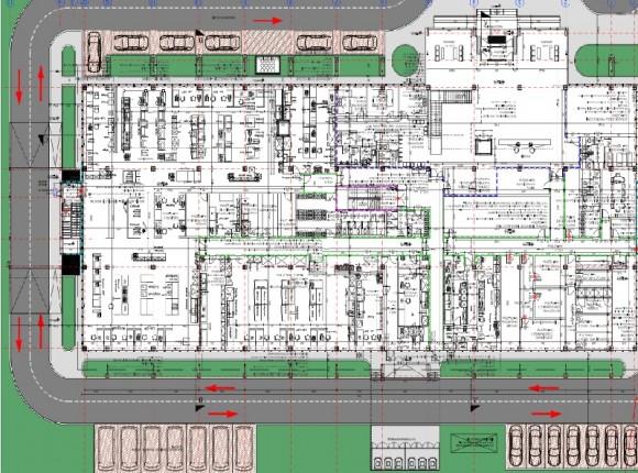 SYNEVO – Cladire laborator Analize Medicale, Birouri, Spatii cazare, Chiajna, Ilfov
