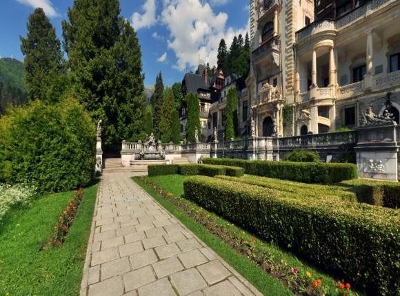 Consolidare zid de sprijin – Castelul Peles, Prahova